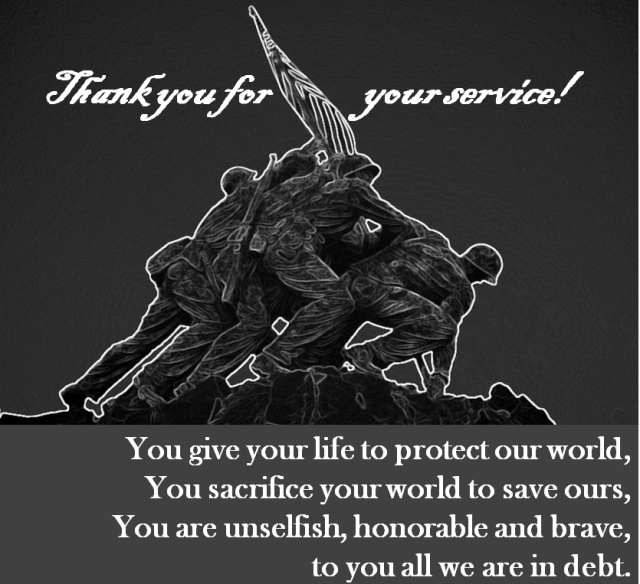 Thank you for your service 2